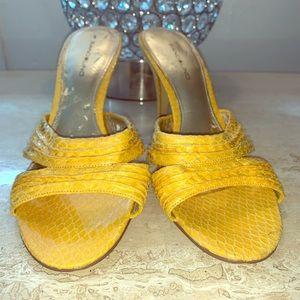 BANDOLINO Sandal | Yellow | Size 9